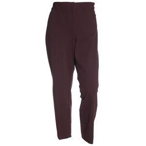 Purple Comfort Waist Skinny Leg Pants NEW Plus
